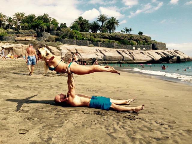 Kanti Boglárka fitnesz Tenerife