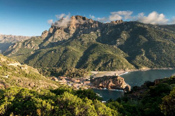 Korzika, Portói-öböl