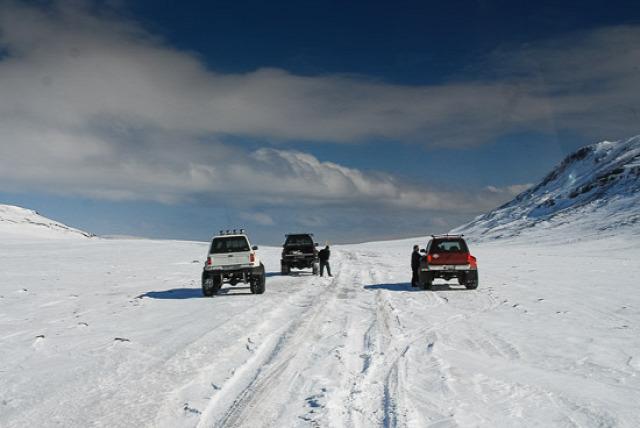 Izland vulkánok