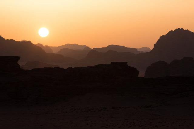 Jordánia Petra Wadi Rum