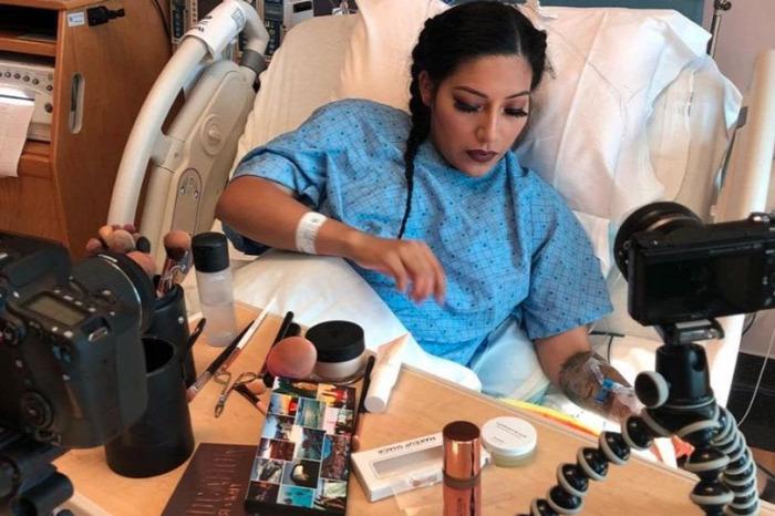makeup influencer instagram facebook szülés vajúdás
