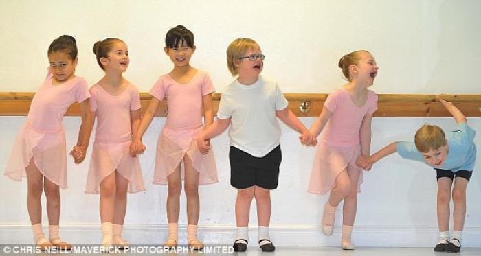 down szindróma balettóra gyermekbalett