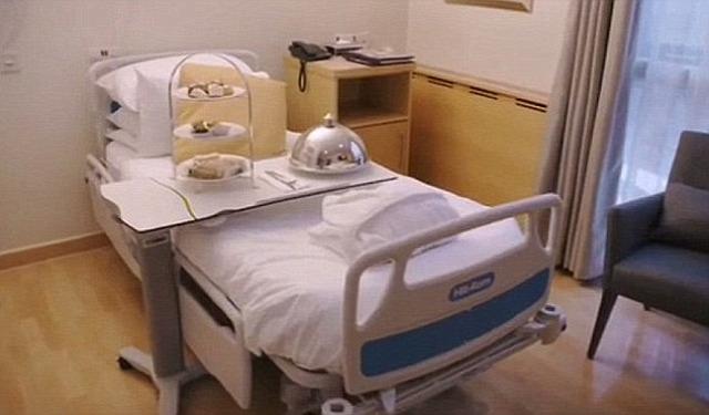 szülés portland hospital luxuskórház luxusszülészet meghan markle harry herceg brit királyi család