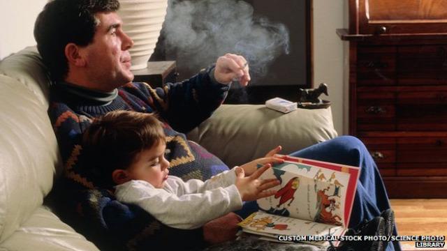 dohányzás szülői dohányzás tüdőbetegség copd