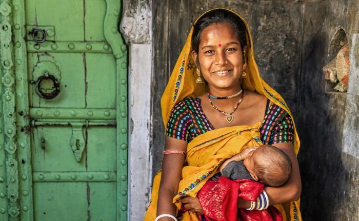 india szoptatás csecsemőhalandóság
