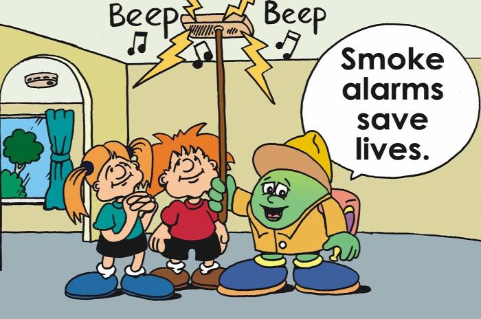 füstjelző szénmonoxid riasztó
