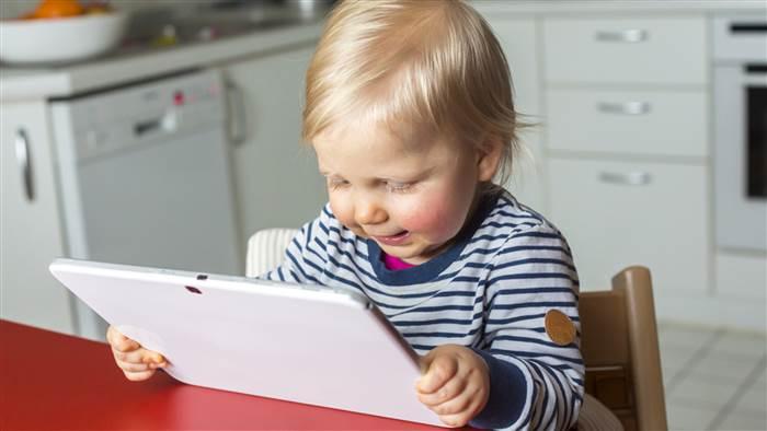 tablet internethasználat csecsemők kisdedek