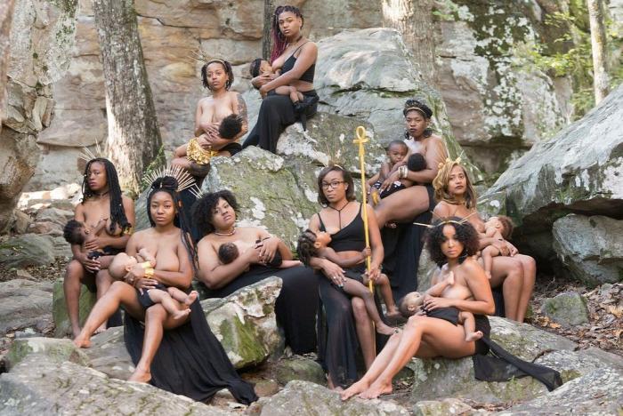 szoptatás kampány feketék afroamerikaiak