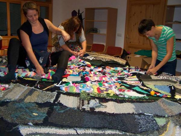 faluszőnyeg újrahasznosítás Mosonszolnok retextil