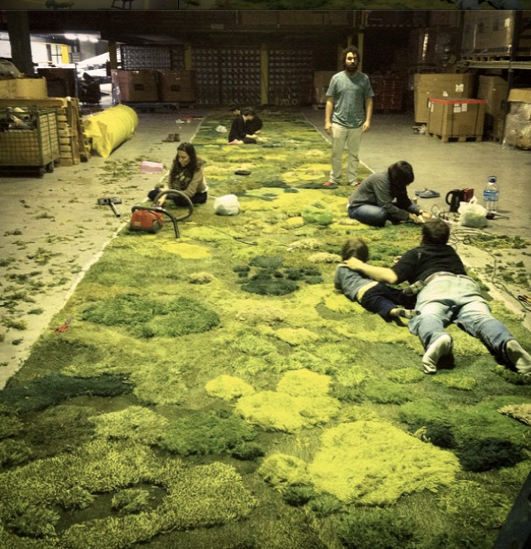 szőnyeg újrahasznosítás argentína
