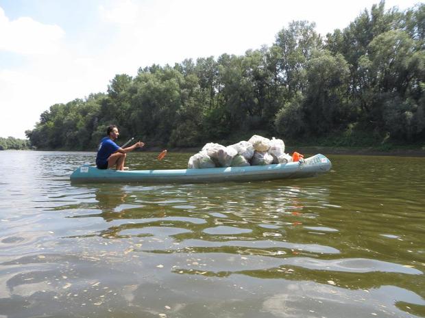 műanyag hulladék újrahasznosítás Tisza környezetszennyezés műanyag hulladék PET-palack