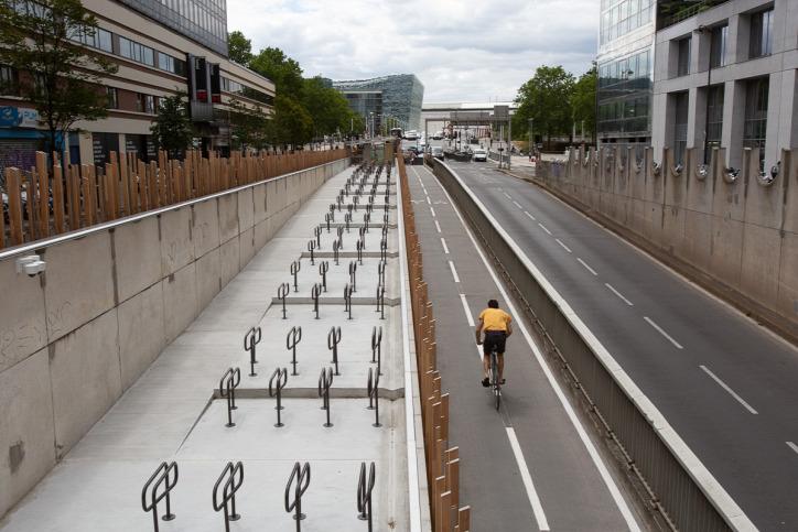 kerékpár Párizs