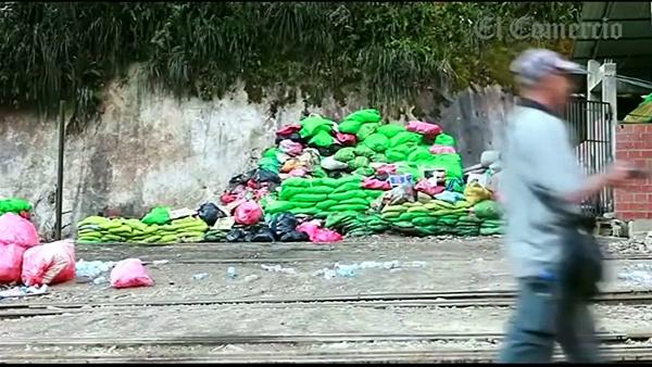 Machu Picchu szemét hulladék fenntartható turizmus világörökség