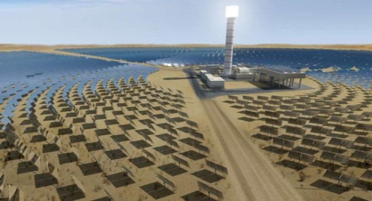 naphőerőmű megújuló energia Izrael