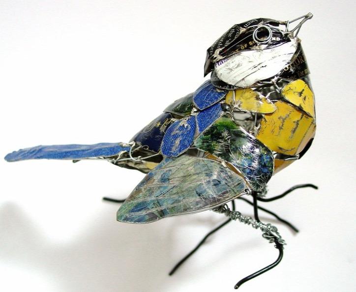 művészet újrahasznosítás természet