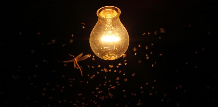 fényszennyezés energiatakarékosság LED