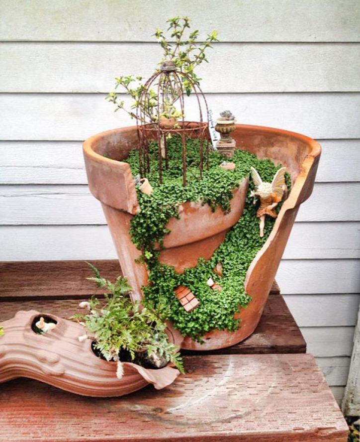 kert újrahasznosítás gyerek