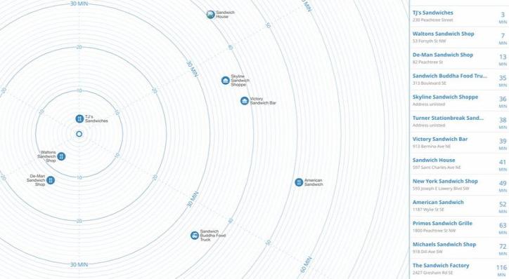 közlekedés urbanisztika térkép Time Map Peter Liu Dusek Tamás légszennyezés