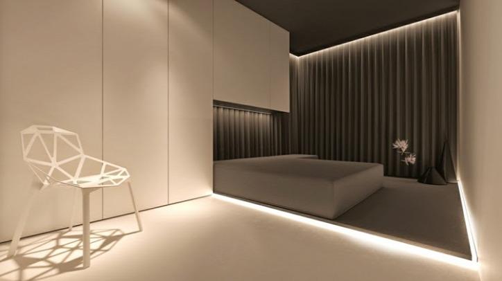 LED LED-világítás otthon világítás energiatakarékosság fürdőszoba konyha nappali hálószoba rejtett világítás LED-füzér előszoba