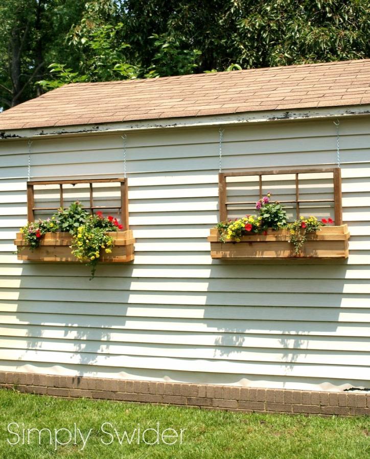 újrahasznosítás ablak építkezés kert otthon lakberendezés