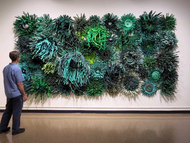 kábel újrahasznosítás művészet