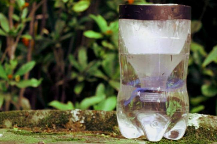 PET-palack szúnyog illóolaj citromos eukaliptusz olaj