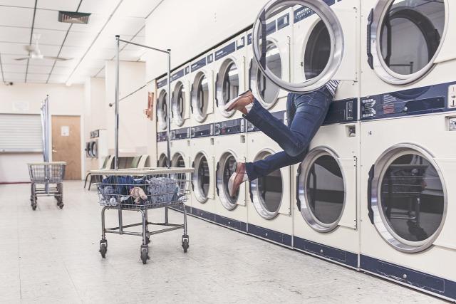 mosás műszálas textil mikroműanyag