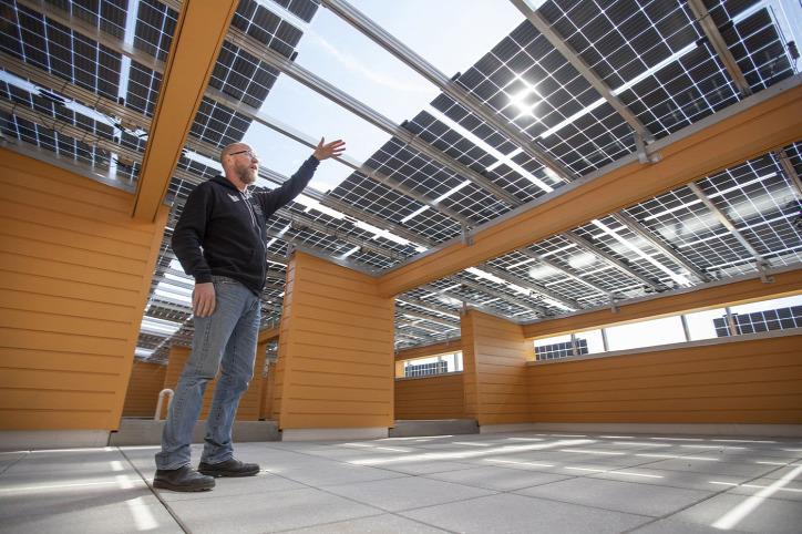 fenntartható építészet napelem napenergia urbanisztika városi élet LEED passzívház