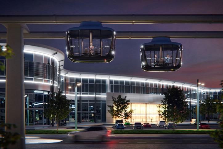 Art.Lebedev Bosch közlekedés város