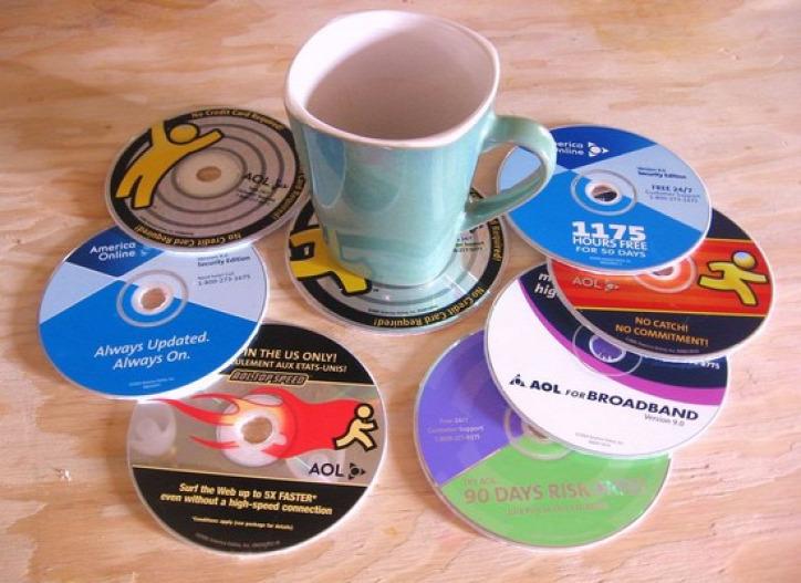 CD újrahasznosítás barkács