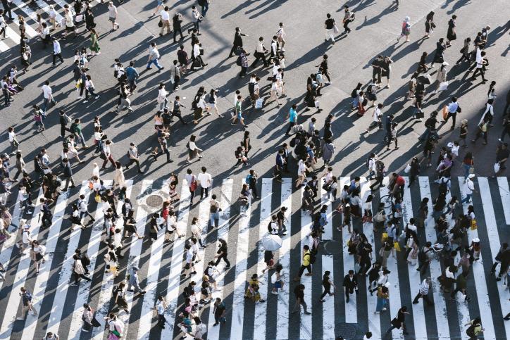 gyaloglás városi életmód urbanisztika