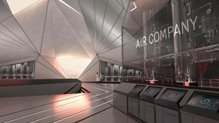 légszennyezés fenntarthatóság CO2 szén-dioxid közlekedés űrutazás Air Company metán