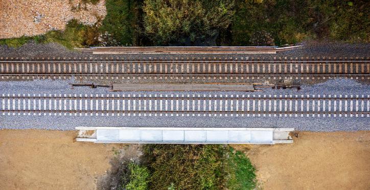 közlekedés híd vonat