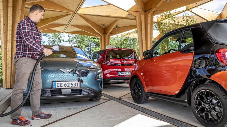 elektromos autó Dánia környezetvédelem Tesla Kia Hyundai