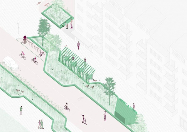 Svédország urbanisztika várostervezés légszennyezés 15 perces város közlekedés autó