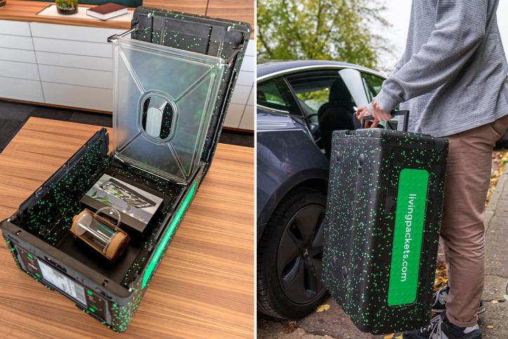 koronavírus csomagolás hulladék újrahasznosítás csomag