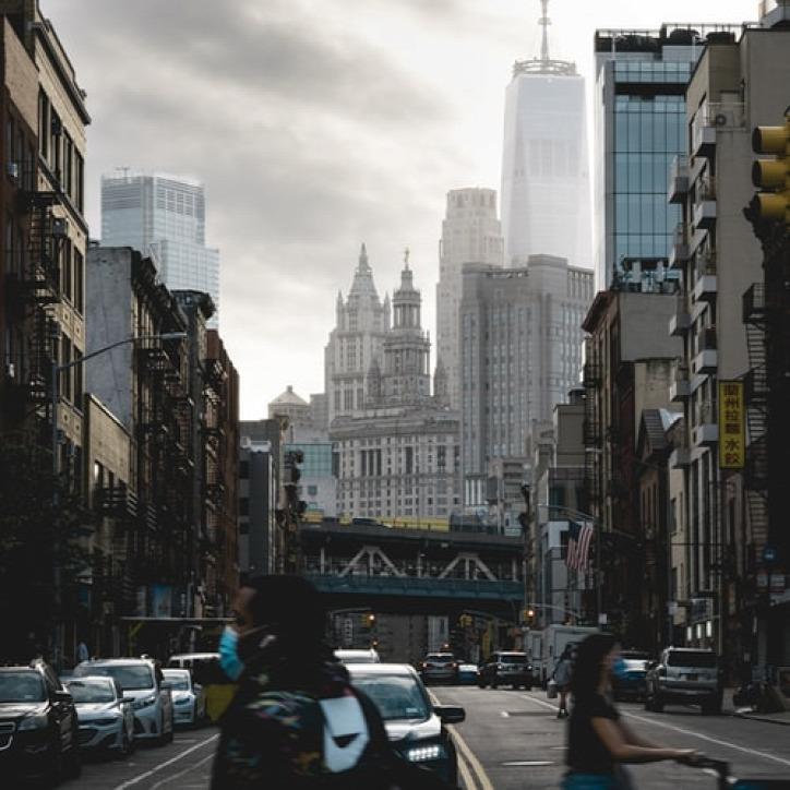 New York koronavírus iroda otthon újrahasznosítás