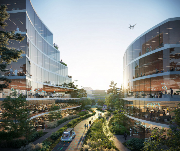 autómentes ökováros építészet fenntarthatóság természet