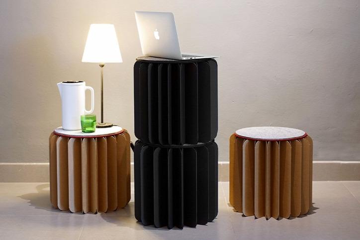 újrahasznosítás otthon bútor
