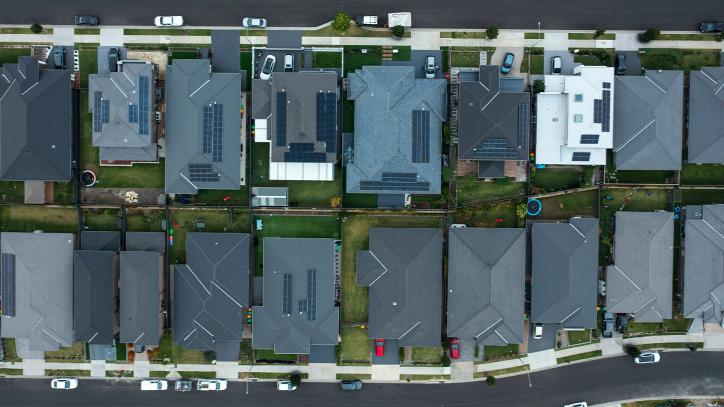 városi hősziget Sydney Ausztrália IPCC