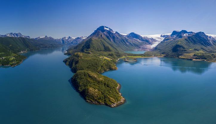 Norvégia szálloda turizmus hotel fenntartható építészet