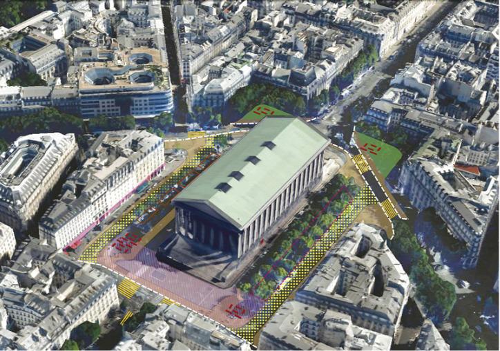 városfejlesztés tekepülésfejlesztés Párizs tér