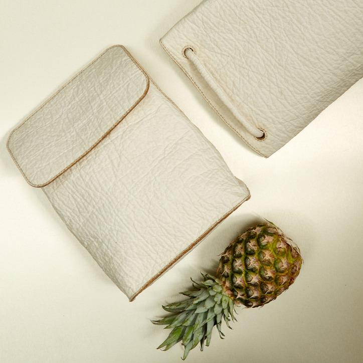 ananászlevél ananászültetvény újrahasznosítás bőr cipő