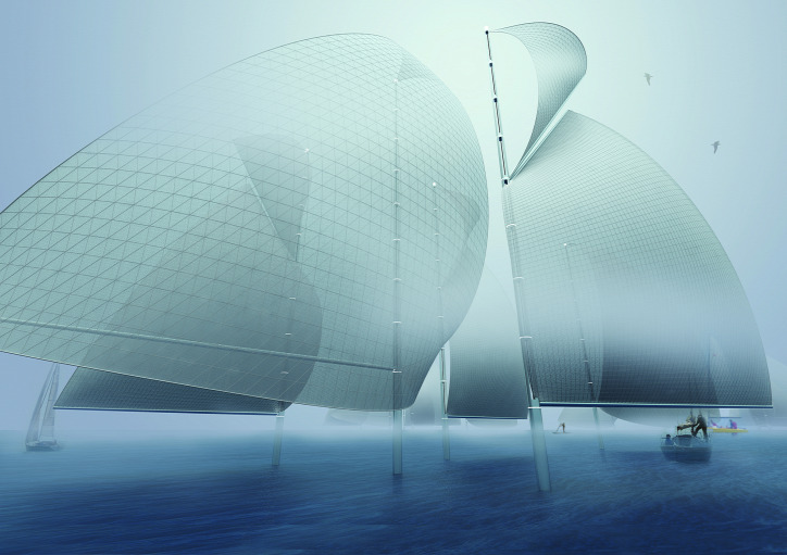 környezetvédelem megújuló energiatermelés napenergia ködvitorla aeroponikus farm szélhárfa LAGI-díj fenntartható építészet