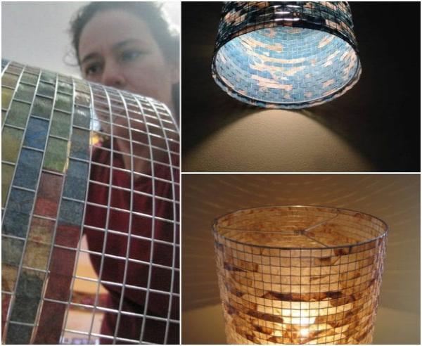 lámpabura design dizájn újrahasznosítás kávéfilter