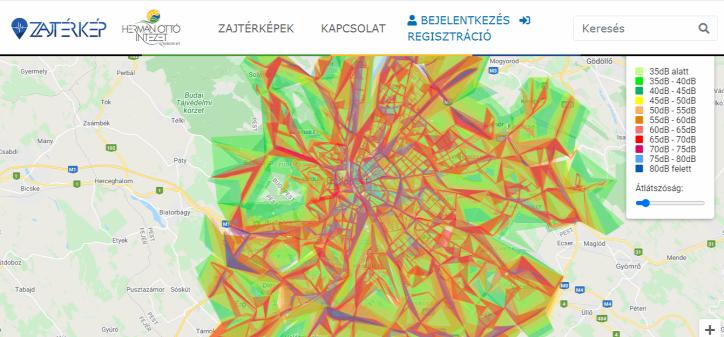 gyaloglás városi életmód urbanisztika zajszennyezés közlekedés autó