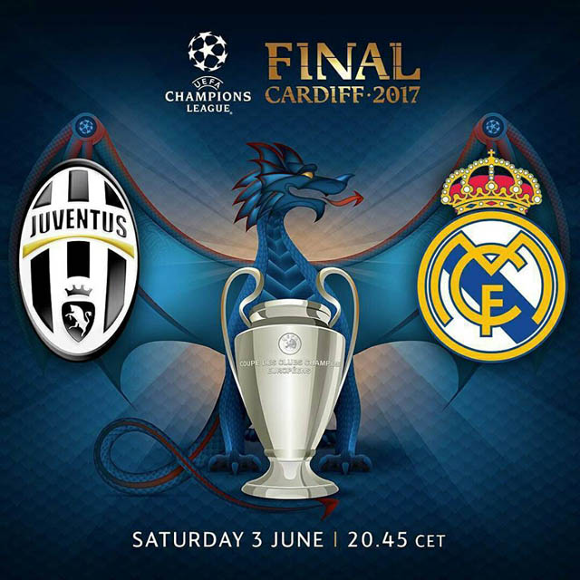 Cardiff 2017 UCL Final Hajdu Attila Juventus Cry Buffon Real Madrid