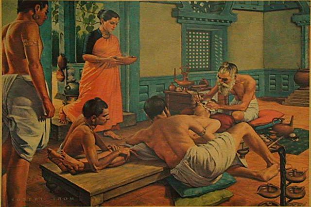 egészség ayurveda régészet ókori India