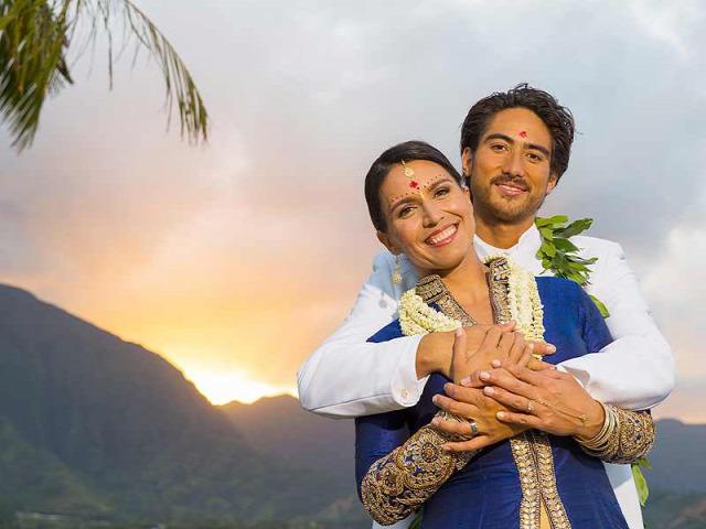 hírességek Bhagavad-gítá hinduizmus esküvő indiai nők