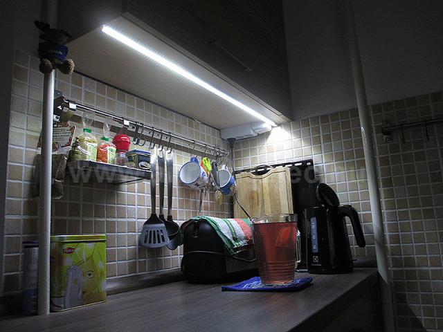 LED világítás LED szalag LED-sor LED csík konyha munkapult felújítás világítás villanyszerelés anro webáruház